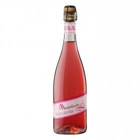 Vino Lambrusco rosado Monteberin 75 cl.