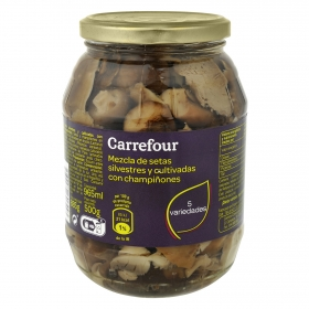 Mezcla de setas Carrefour 500 g.