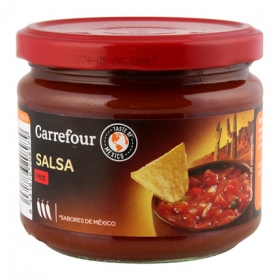 Salsa hot Carrefour tarro 315 ml.