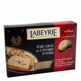 Foie gras entero pato Labeyrie 120 g.