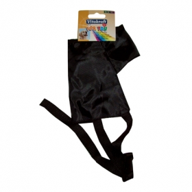 Bozal nylon talla l-xl 21cm negro perro