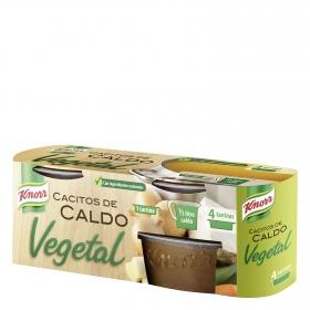 Caldo vegetal Knorr 4 cacitos