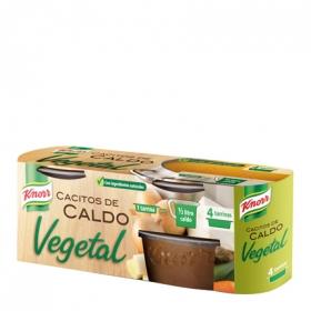 Caldo vegetal cacitos Knorr 4 ud.
