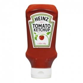 Ketchup extra control Heinz envase 460 g.