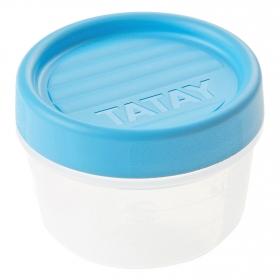 Hermetico Rosca de Plástico TATAY 0,2 L. - Opaco