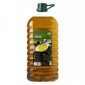 Aceite de oliva virgen Carrefour garrafa 5 l.