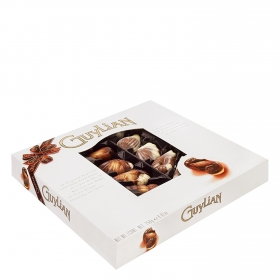 Bombones de chocolate belga frutos del mar Guylian 22 ud.
