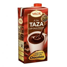 Chocolate a la taza listo para tomar