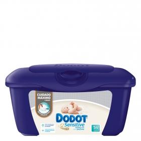 Toallitas para bebé en caja Dodot Sensitive 54 ud.