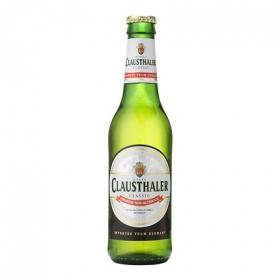 Cerveza Clausthaler botella 33 cl.