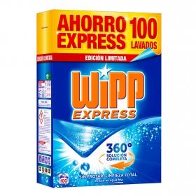 Detergente en polvo Wipp Express 100 lavados