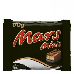 Mini barrita de chocolate y galleta con caramelo Mars 170 g.