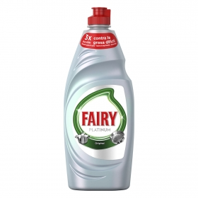 Lavavajillas a mano Platinum Fairy 650 ml.