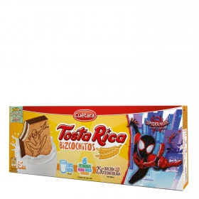 Bizcochitos Tosta Rica 125 g.