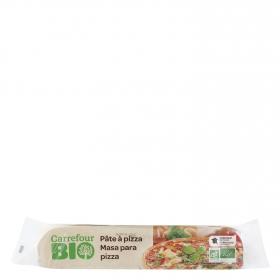 Masa pizza ecológica Carrefour Bio 260 g.