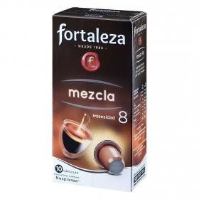 Café mezcla en cápsulas compatible con Nespresso