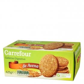 Galletas de avena Digestive Carrefour 425 g.