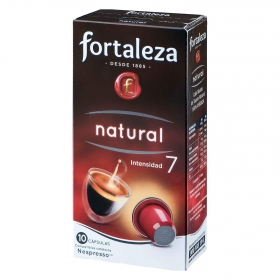Café natural 100% arabica 10 cápsulas