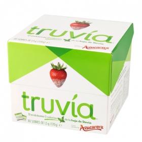 Endulzante en sobres Truvia 80 unidades de 1,5 g.