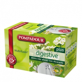 Infusión digestive en bolsitas Pompadour 20 ud.