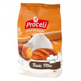 Harina  para pan Proceli sin gluten 1 kg.