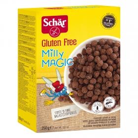 Cereales Milly y Magic Schär sin gluten y sin lactosa 250 g.