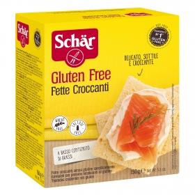 Pan crujiente Schär sin gluten 150 g.