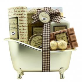 Bañera de baño chocolate