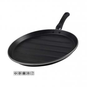 Grill Clásica de Acero Esmaltado MAGEFESA Zen Noir 28cm - Negro