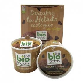 Helado mousse chocolate con cookies BIO - Sin Gluten