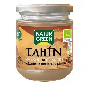 Tahin tostado ecológico Naturgreen sin gluten sin lactosa tarro 300 g.