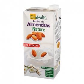 Bebida de almendras sin azúcar Diemilk brik 1 l.