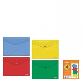 Lote Sobres Opacos Tamaño Folio Colores Surtidos