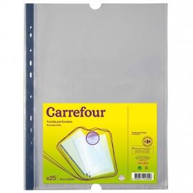 Fundas Perforadas A4 Carrefour 25 uds