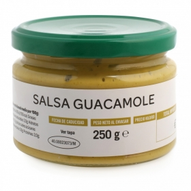 Salsa guacamole Mexifoods tarro 280 g