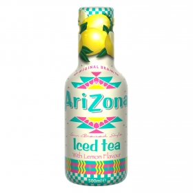 Refresco de té Arizona sabor limón botella 50 cl.