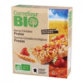 Barra cereales fresa
