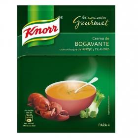 Crema de bogavante con un toque de hinojo y cilantro Knorr 61 g.