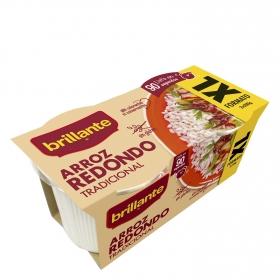 Arroz redondo para microondas  Brillante pack de 2 ud. de 200 g.