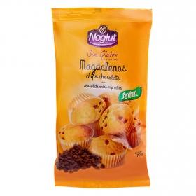 Noglut magdalena con pepitas de chocolate Santiveri sin gluten 180 g.