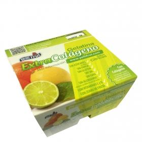 Gelatina extra colágeno sabor cítricos
