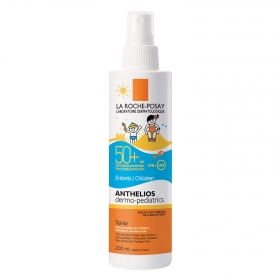 Spray solar infantil FP 50+ para piel sensible Anthelios La Roche-Posay 200 ml.