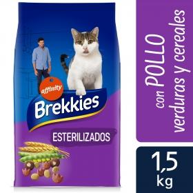 Brekkies Pienso para Gato  esterilizados 1,5 kg