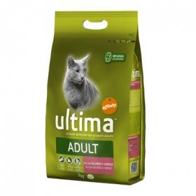 Comida Gatos Esterilizados Ultima con Salmón y Arroz