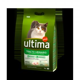Ultima Pienso para Gato Adulto control tracto Urinario 3kg.