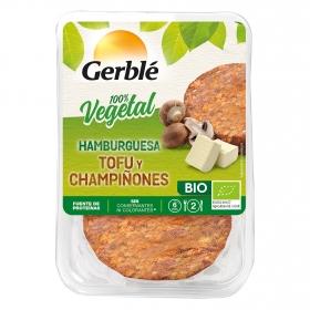 Hamburguesa de tofu y champiñones ecológica Gerblé Bio pack de 2 unidades de 80 g.
