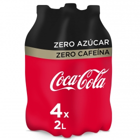 Refresco de cola zero zero