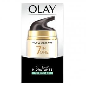 Crema de día anti-edad hidratante sin perfume Total Effects 7 en 1