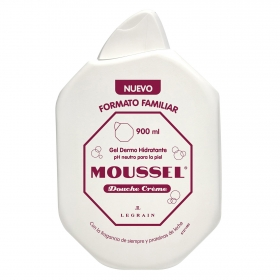 Gel de ducha hidratante Moussel 900 ml.