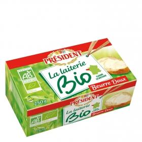 Mantequilla ecológica Président 250 g.